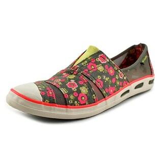 Columbia Vulc N Vent Slip Women Cap Toe Canvas Multi Color Loafer