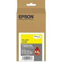 """Epson 788 Ink Cartridge - Yellow Epson DURABrite Ultra Ink 788XXL Ink Cartridge - Yellow - Inkjet - Extra High Yield - 4000"