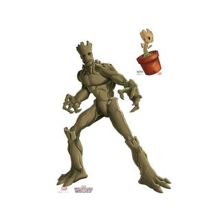 Groot & Little Groot Animated Guardians of the Galaxy