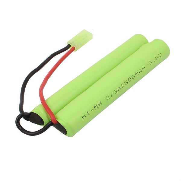 DC 9.6V 2500mAh Rechargable Ni-MH Battery Pack for Electrical Toys