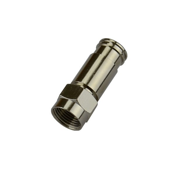 Monoprice RG-59 F-Connector Compression Fitting, 25 Pack