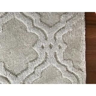nuLOOM Handmade Modern Trellis Fancy Wool Area Rug