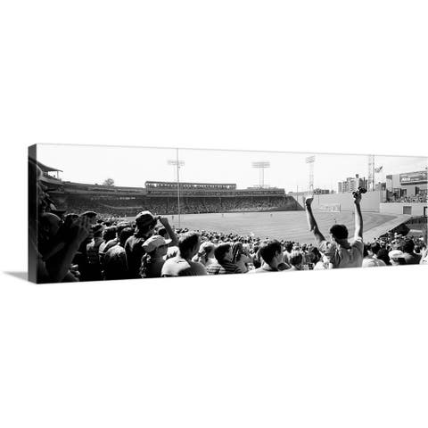 """Fenway Park Boston Massachusetts"" Canvas Wall Art"