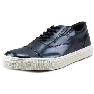 Hogan R206 Nuovo Modello Basso Men   Patent Leather Gray Fashion Sneakers