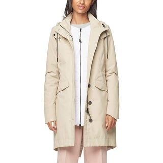Link to Cole Haan Womens Zerogrand  Parka Coat Winter Waterproof - Silver Similar Items in Women's Outerwear