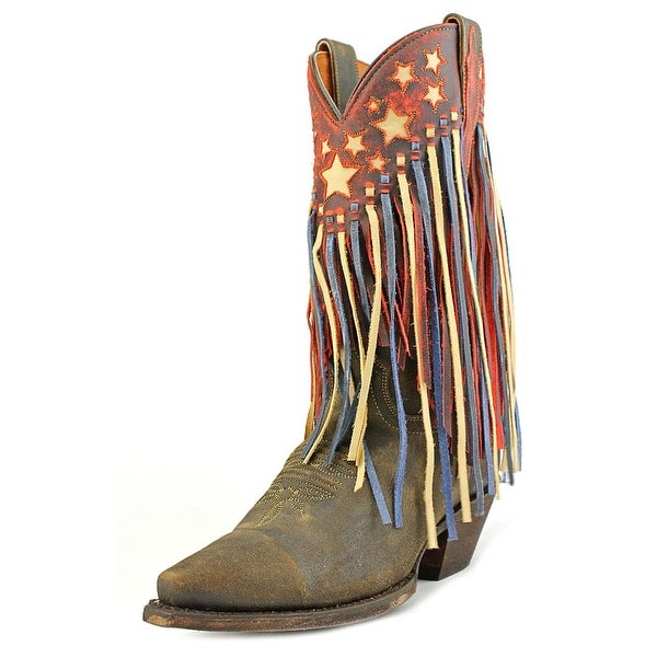 Dan Post DP3531 Pointed Toe Leather Western Boot