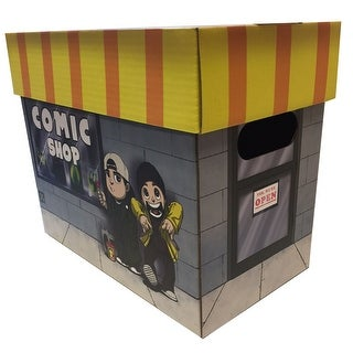 JAY AND SILENT BOB CLERKS Licensed Comic Book Storage Box Holds 100-125 Comics