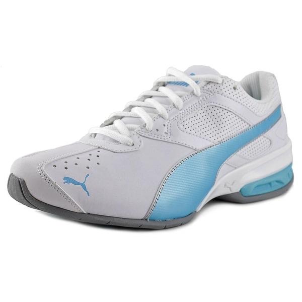 Puma Tazon 6 Women Round Toe Suede White Running Shoe
