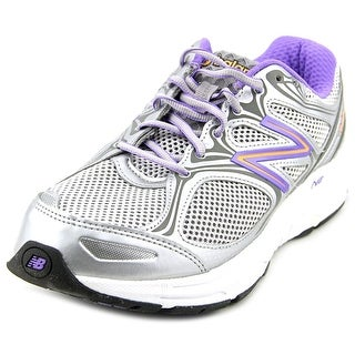 New Balance M840 Women 2E Round Toe Synthetic Silver Walking Shoe