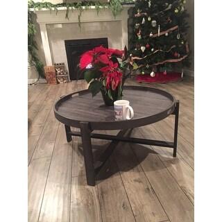 Safavieh Cursten Dark Grey Coffee Table