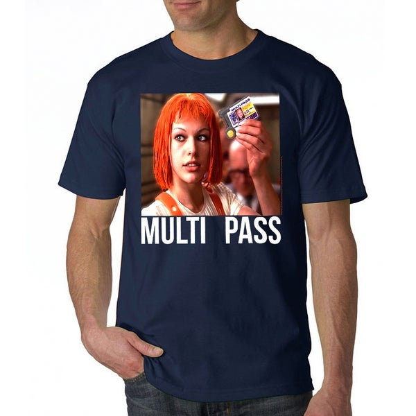 ba37aa83 Shop The Fifth Element Multi Pass Men's Navy T-shirt - Free Shipping On  Orders Over $45 - Overstock - 17380981