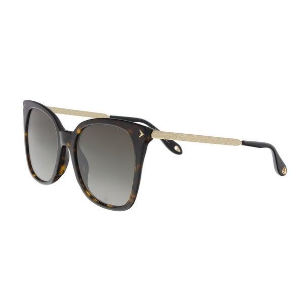 85aec84d9791e Shop Givenchy GV7097S 0086 Dark Havana Square Sunglasses - 54-19-145 ...