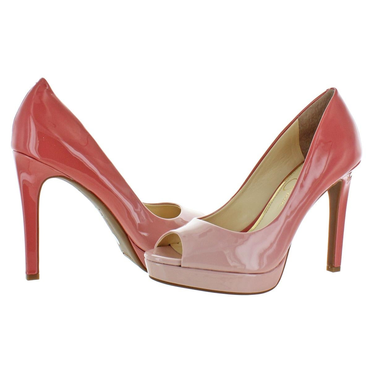 49ff1c4272 Shop Jessica Simpson Womens Dalyn Peep-Toe Heels Dressy - Free Shipping  Today - Overstock - 28133431