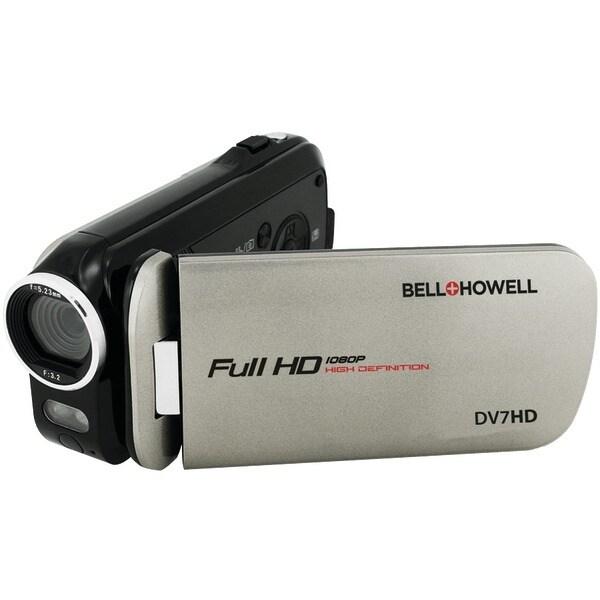 Bell+Howell Dv7Hd-Gy 16.0-Megapixel Slice Ii Dv7Hd Ultraslim 1080P Hd Camcorder (Gray)