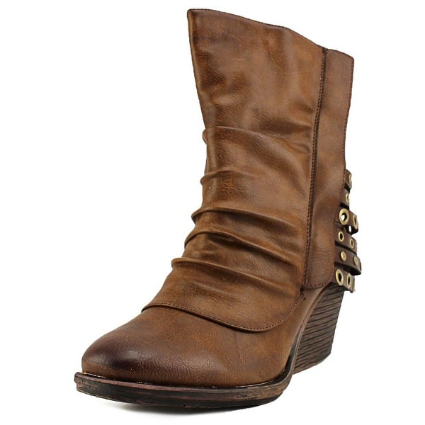 Two Lips Tinker Women Round Toe Synthetic Ankle Boot