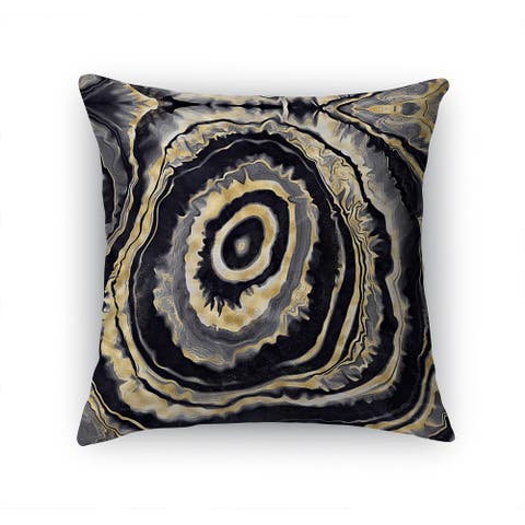 ONYX AGATE Accent Pillow By Kavka Designs