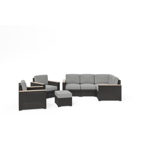 Boca Raton 4-Piece Sectional Set by homestyles