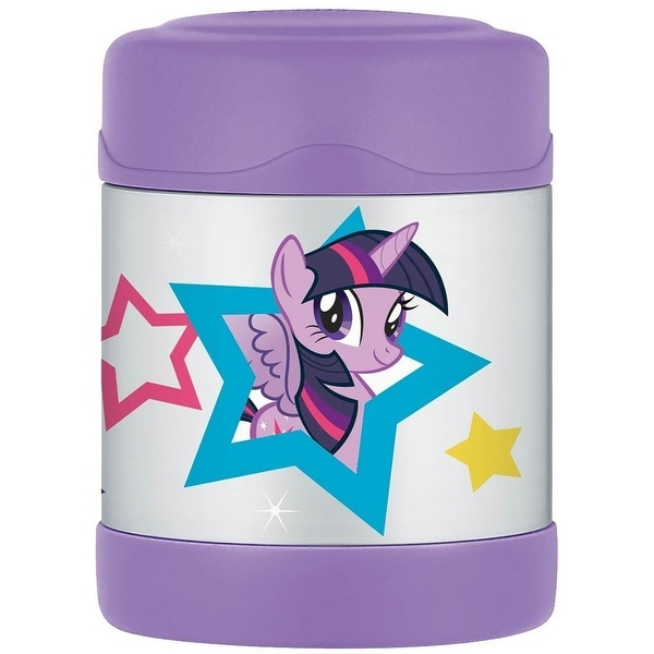 Thermos FUNtainer My Little Pony Insulated Food Jar, Purple, 10 Ounces