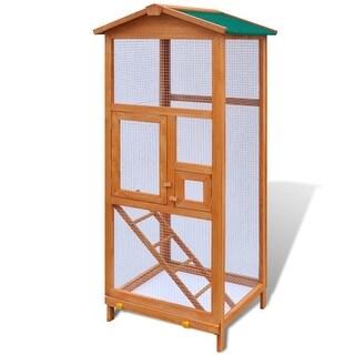 """vidaXL Bird Cage Wood 25.6""""x24.8""""x65"""""""