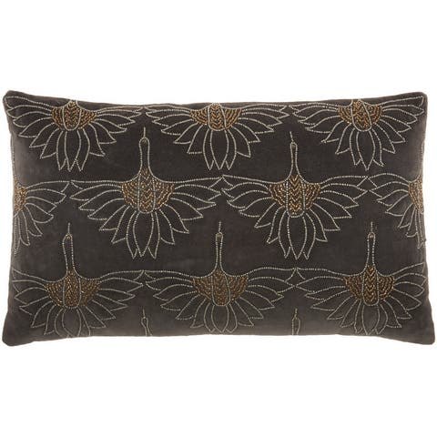 Buy Textured Throw Pillows Online At Overstock Our Best Decorative Accessories Deals