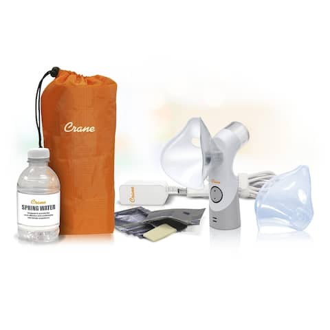 Crane Cordless Personal Inhaler Warm and Cool Mist Functions ee5948