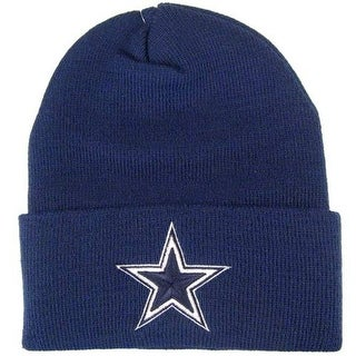 Dallas Cowboys Basic Knit Hat - Navy