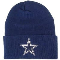 Dallas Cowboys Basic Knit Hat - Navy