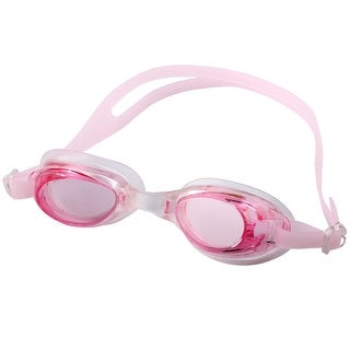 Adult Frame Adjustable Swimming Goggles Underwater Bathing Spectacles Case Pink