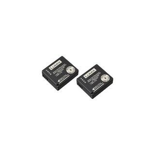 Replacement Battery For Panasonic DMC-GX85K / LX100 Cameras - BLG10 (1025mAh, 7.2V, Li-Ion) - 2 Pack