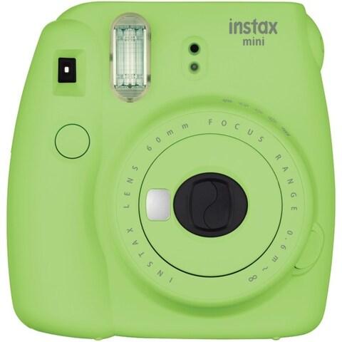 FUJIFILM 16550655 Instax(R) Mini 9 Instant Camera (Lime Green)