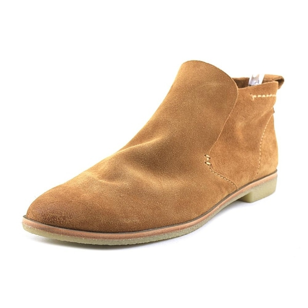 Dolce Vita Colt Women Round Toe Suede Tan Ankle Boot