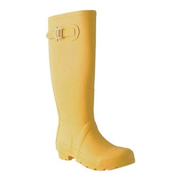 Womens Yellow Rain Boots