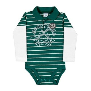 Baby Boy Bodysuit Long Sleeve Newborn Infant Polo Jumper Pulla Bulla 3-12 Months