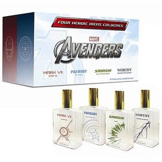 The Avengers Assembled Cologne Set Of 4