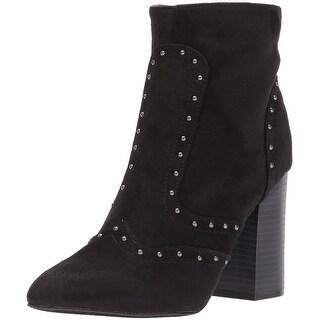 Michael Antonio Womens secrett Almond Toe Mid-Calf Fashion Boots - 8.5