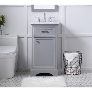 Link to Point Breeze Bathroom Vanity Set with Marble Top Similar Items in Bathroom Furniture