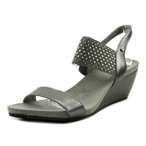 Anne Klein Womens Castie Open Toe Casual Platform Sandals