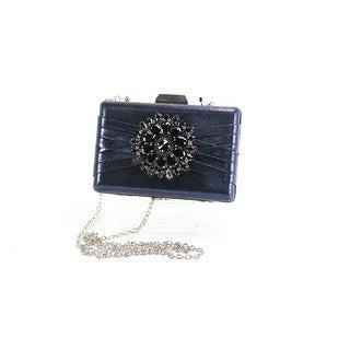 INC International Concepts NEW Navy Blue Majaa Clutch Handbag Purse