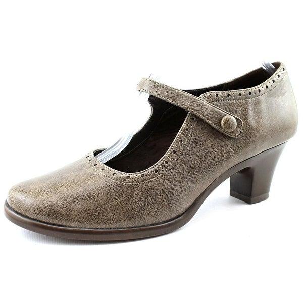 Aerosoles Railroad Women Round Toe Synthetic Gray Mary Janes