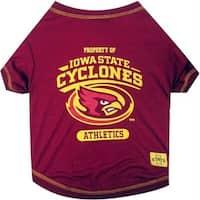 Iowa State Cyclones Pet Tee Shirt - Medium