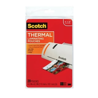 3M Mobile Interactive Solution - Thermal Pouches, Photo Size