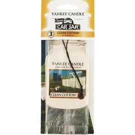 Yankee Candle Cln Cottn Car Freshener