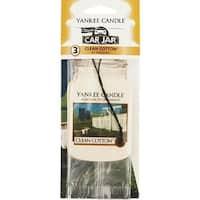 Yankee Candle Cln Cottn Car Freshener