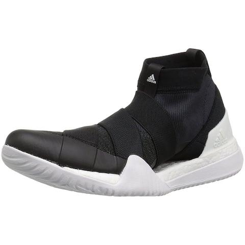 Adidas Womens PUREBOOST X Hight Top Pull On Running Sneaker