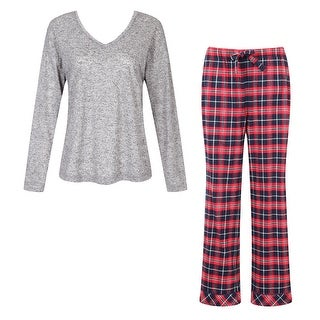 Richie House Women's Two-piece Pajama Set with Pants