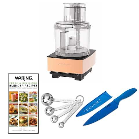 Cuisinart DFP-14CPY Food Processor, Copper w/ Spoons, Knife & Cookbook