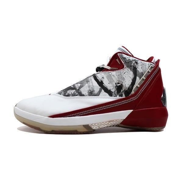 Nike Men's Air Jordan XX2 22 White/Varsity Red-Black Omega 315299-162