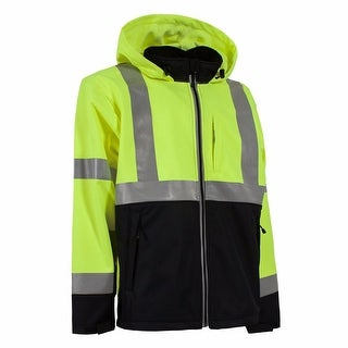 Berne Hi-Visibility Softshell Jacket