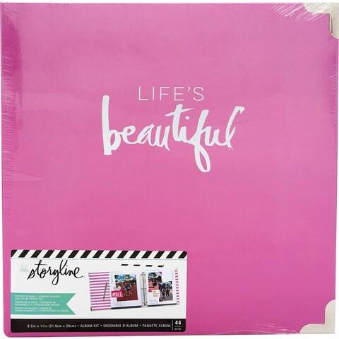 "Heidi Swapp Storyline2 D-Ring Album 8.5""X11""-Life's Beautiful"