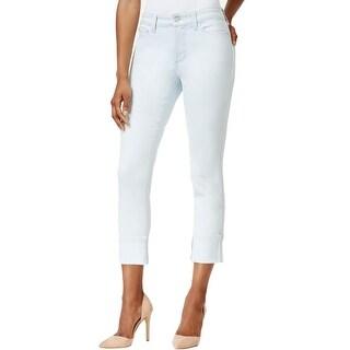 NYDJ Womens Lorena  Boyfriend Jeans Denim Wide Cuff